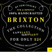 Creativemarket 12 Fonts The Brixton Collection 321699 icon