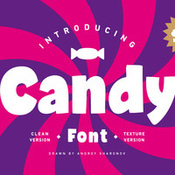 Creativemarket Candy Font 313153 icon