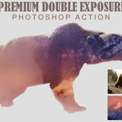Creativemarket Double Exposure Photoshop Action 278656 icon