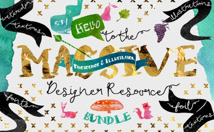 Creativemarket_Massive_Designer_Resource_Bundle_291929_cap01