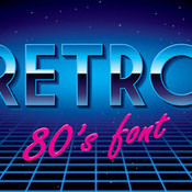 Creativemarket Retro disco font 304327 icon