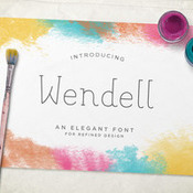 Creativemarket Wendell Font Family 308955 icon