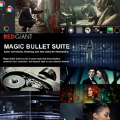 Red Giant Magic Bullet Suite 12 logo icon