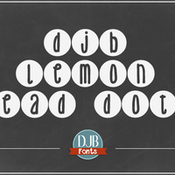 Creativemarket DJB Lemon Head Dots Font 332297 icon