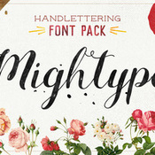 Creativemarket Mightype FontPack Handlettering 325475 icon