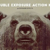 Creativemarket Double Exposure Action Kit 336617 icon