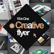 Creativemarket 15 in 1 creative flyer bundle 347755 icon