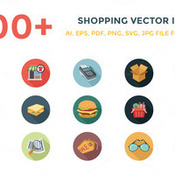 100plus shopping vector icons 132499 icon