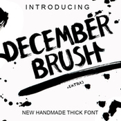 December brush icon