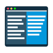 Procommander dual pane file manager icon