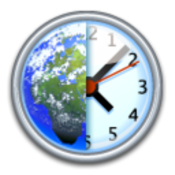 World clock deluxe logo icon