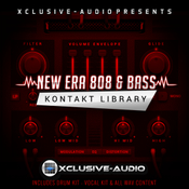 Xclusive audio new era 808 bass kontakt logo icon