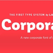 Corporative by latinotype logo icon