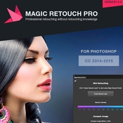 Magic retouch pro v3 0 for photoshop icon