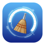 Memory disk file cleaner icon