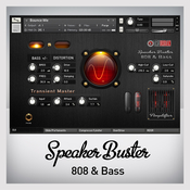 Tru urban speaker buster 808 and analog synth bass icon