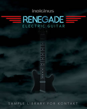 Indiginus samples renegade electric guitar box icon