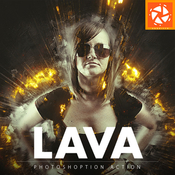 Lava photoshop action 11886875 icon