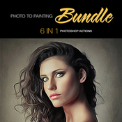 Photo to painting bundle 6 in 1 11770910 icon