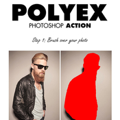 Polyex photoshop action 11989540 icon