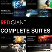 Red giant complete suites logo icon