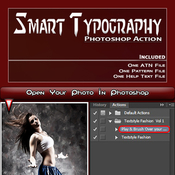 Smart typography ps action 11108449 icon