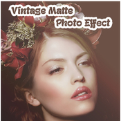 Vintage matte photo effect 12098933 icon