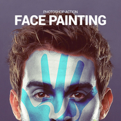 Face painting 13264509 icon