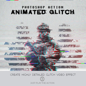 Glitch photoshop actions 12811041 icon