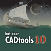 Hot door cadtools 10 logo icon