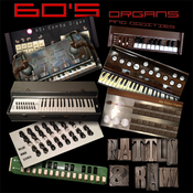Rattly and raw 60s organs and oddities kontakt icon