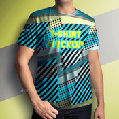 T shirt mock up male model classic edition 9657829 icon