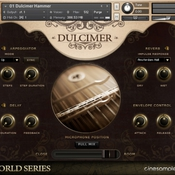 Cinesamples dulcimer and zither kontakt icon
