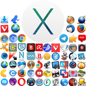 Os x mavericks 10 9 4 applications logo icon