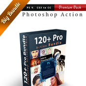 120plus pro photoshop action bundle by kitket 14274859 icon