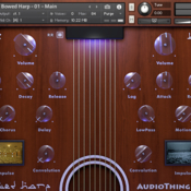 Audiothing bowed harp icon