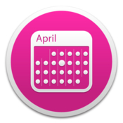 Monthlycal a colorful monthly calendar widget icon