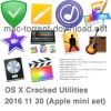 OS X Cracked Utilities 2016 11 30 (Apple mini set)