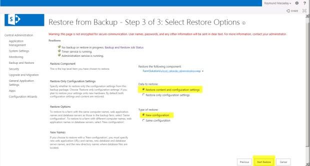 09 Restore Options