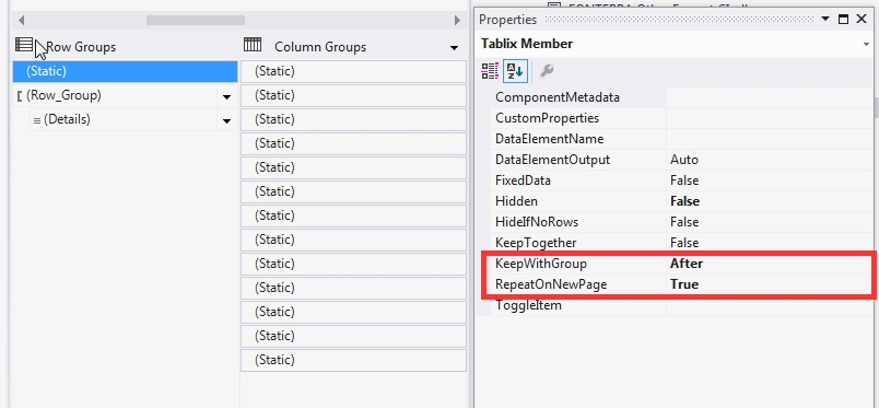 Generate Multiple Worksheets by Groups in SSRS Exported