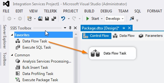 03 New Data Flow Task