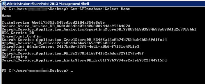 00 List all Databases