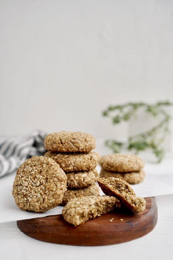Galletas de avena y semillas