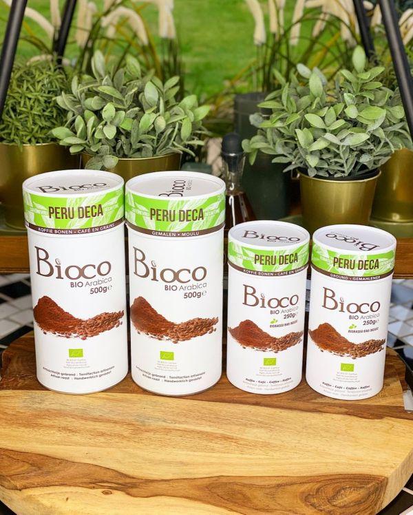 BIOCO koffie - PERU DECA - Gemalen (500g)