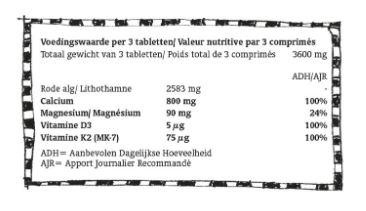 Bone Food Complex (60 tablets)
