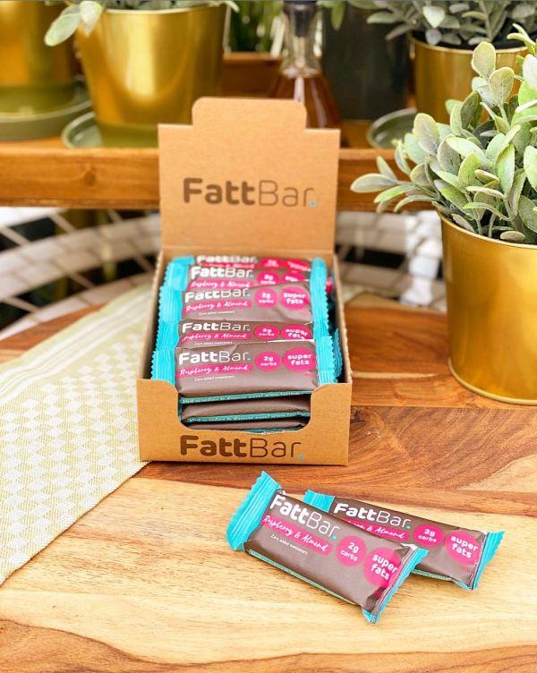 FATTBAR Raspberry & Almond (20 x 30g)
