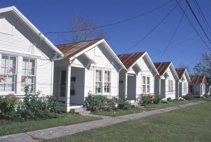 Image result for picture of several small houses in a row