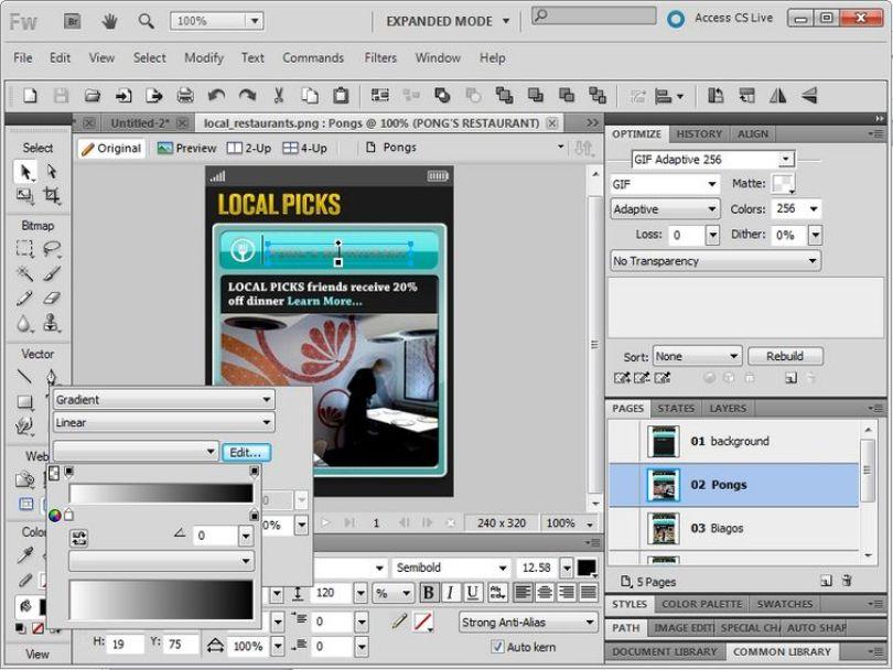 Adobe Fireworks CS6 2020 Mac Crack Download FREE – Mac Apps Stores