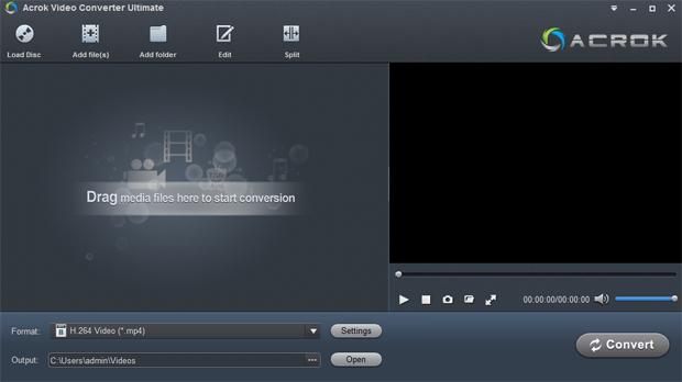Acrok Video Converter Ultimate mac