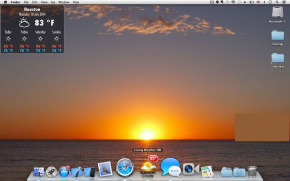 Weather HD mac